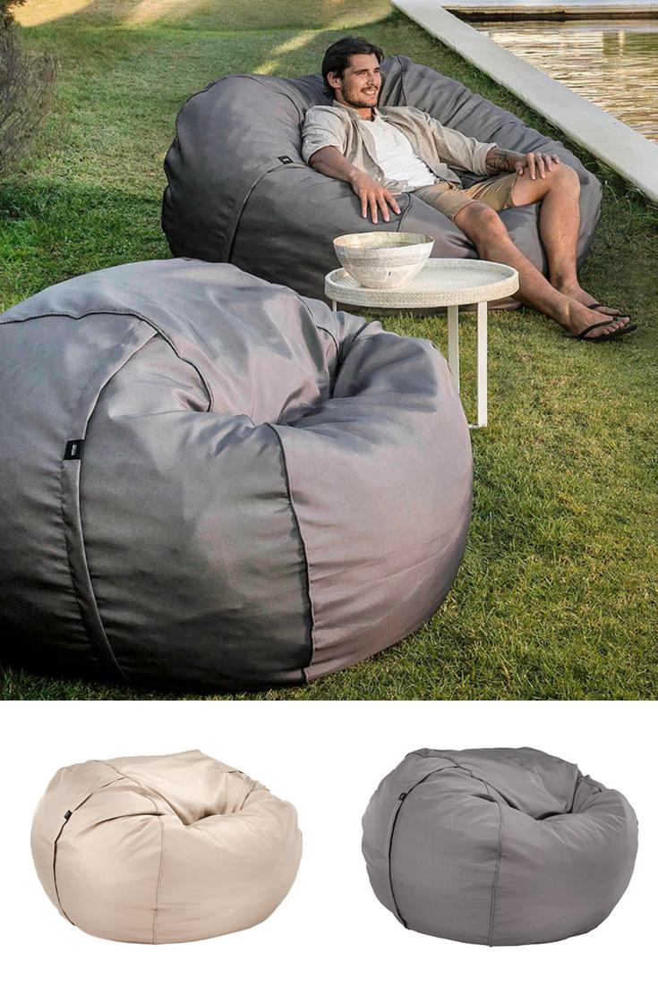Garten Sitzsack Mit Traumhaftem Komfort Satamo Loungemobel