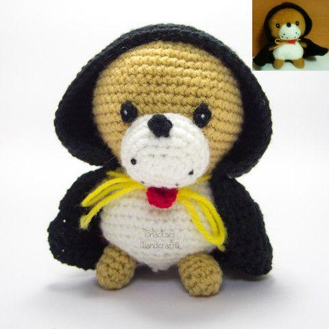 Kiwatarou (極太郎) Crochet Pattern (Free) – Snacksies Handicraft