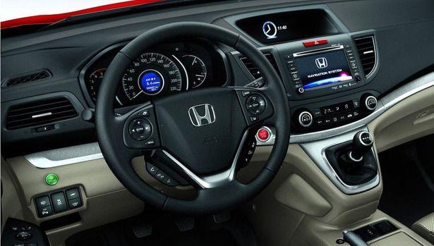 2017 Honda CRV  interior  HONDA  Pinterest  Honda Interiors