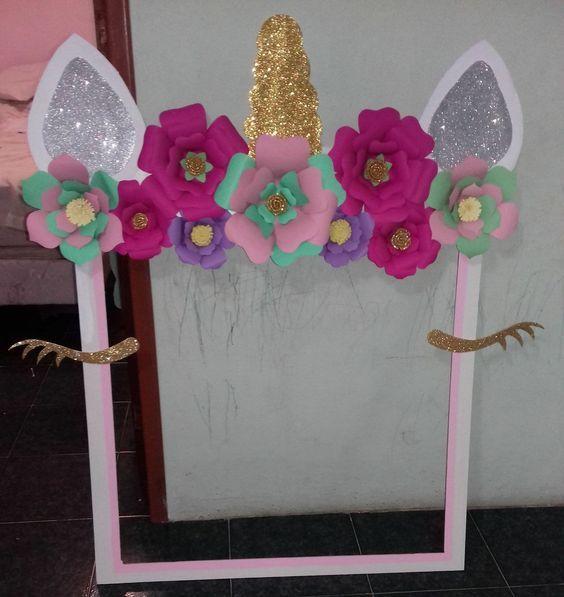 Fiestas infantiles de unicornio - Como hacer adornos para fiestas ...