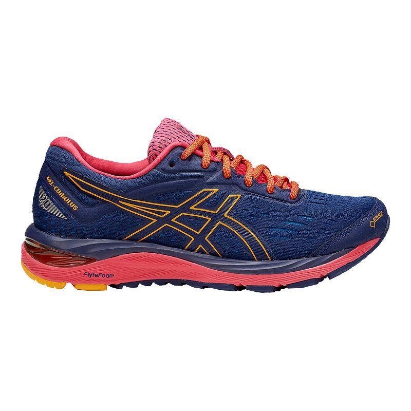 ASICS Women's GEL-Cumulus 20 GTX Running Shoes - Indigo Blue ...