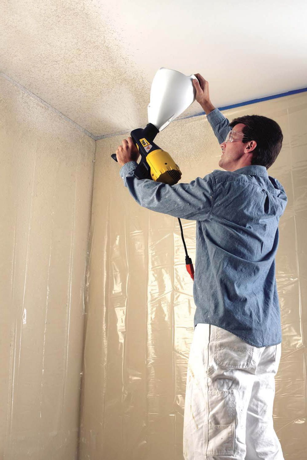 Tackle Every Painting Project With The Easy To Use Wagner Power Tex Texture Sprayer Simply Fill The Hopper Spray Texture Walls Texture Sprayer Paint Sprayer