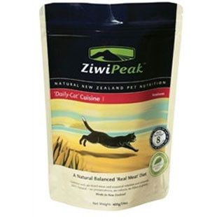 ZiwiPeak Daily-Cat Venison Cuisine Air-Dried Cat Food, 14-oz bag - BD Luxe Dogs & Supplies