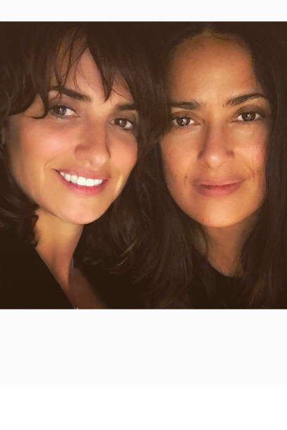 """Good #friends are forever"": Salma Hayek und Penelope Cruz (@ salmahayek)"