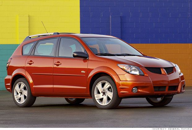 Best Used Cars For Under 8 000 Pontiac Vibe Pontiac Cheap