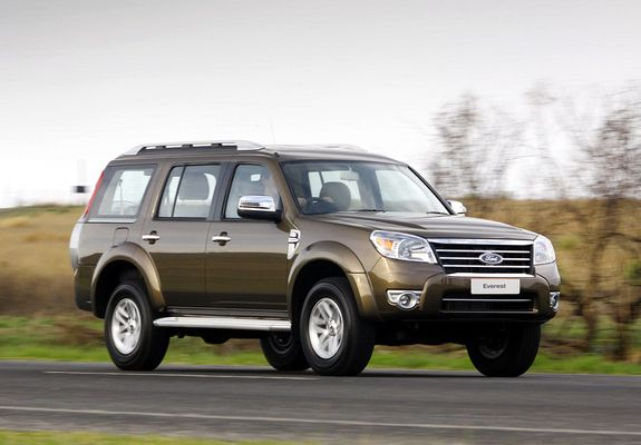 Ford Everest 2009 Wallpapers 1280x960 With Images Suv Cars