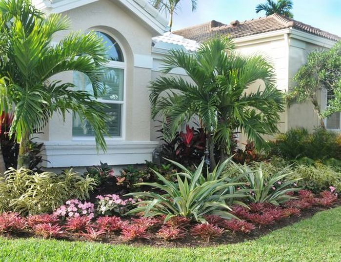50 Florida Landscaping Ideas Front Yards Curb Appeal Palm Trees 23