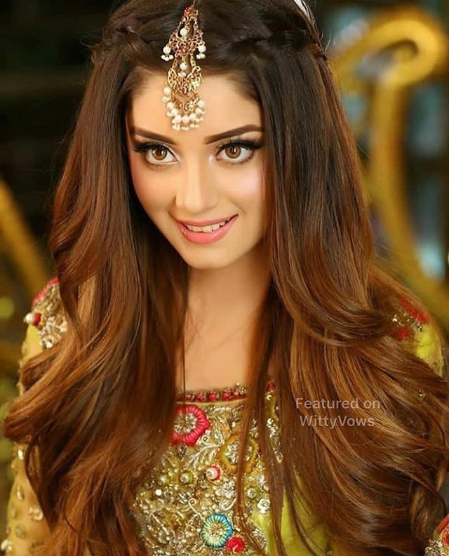 Because What S A Dulhan Without Some Drama Pretty Poser Bridal Swag Cute Brides Engagement Hairstyles Hair Styles Indian Wedding Hairstyles