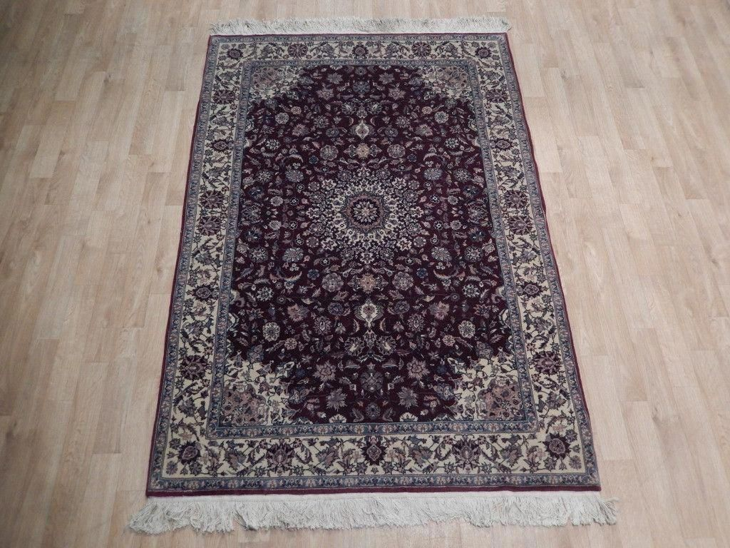 Rugs for less rug 4 x 6 sino wool silk tabriz city weavers