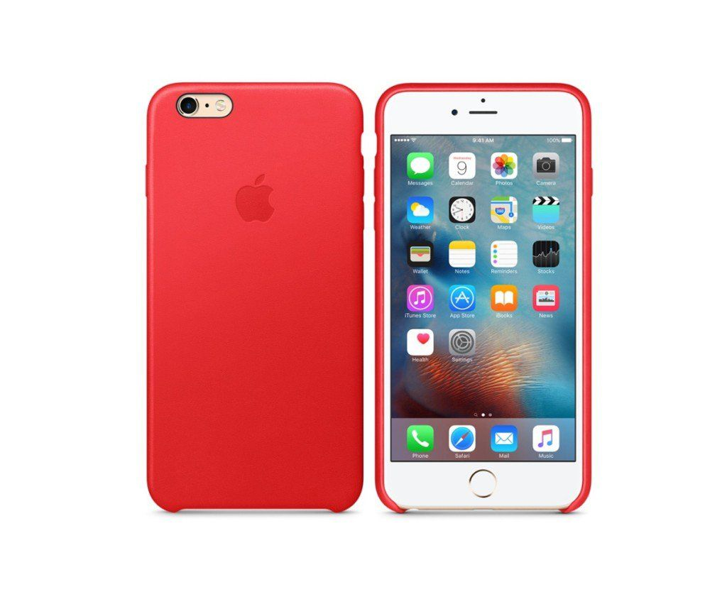 Apple lancia le cover in pelle (Product) RED per iPhone 6s e 6s ...