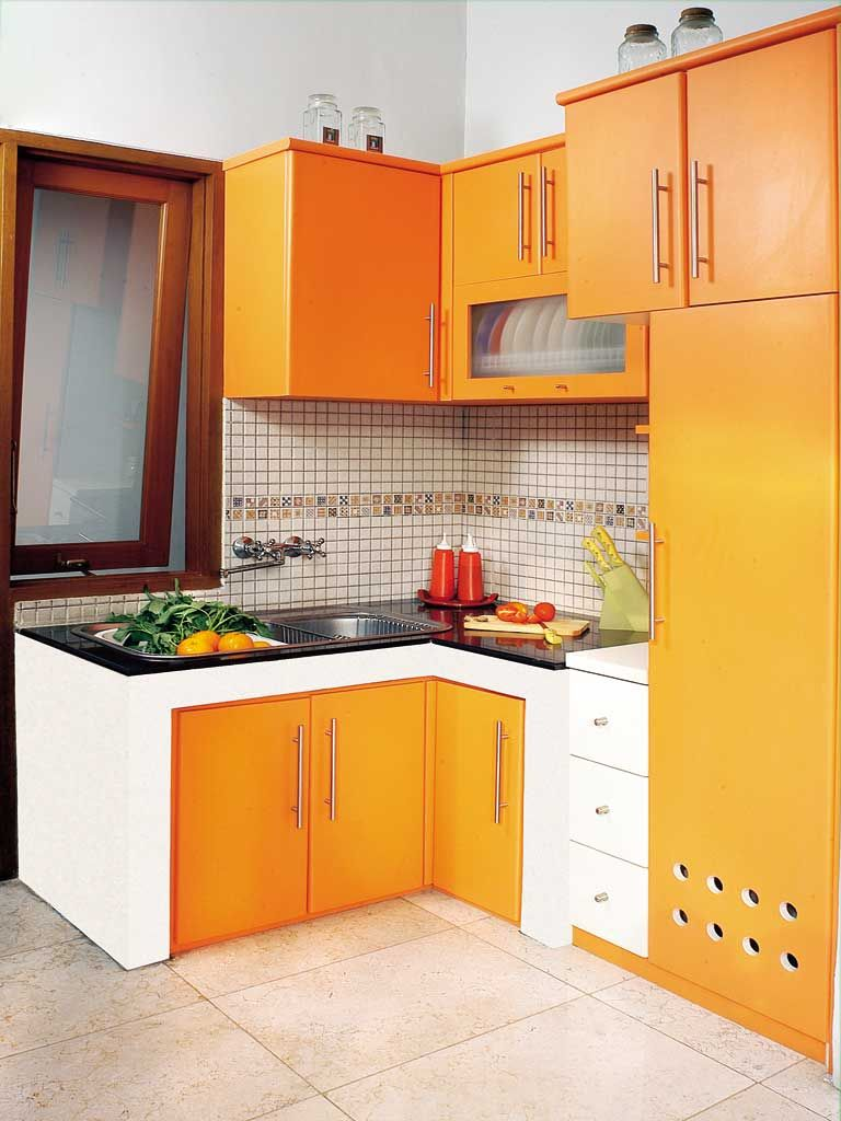 wujud dapur bersih rapi dan praktis kitchen pinterest