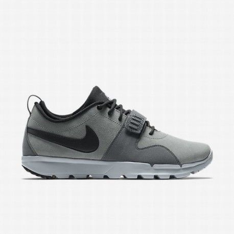 Nike Men's Cool Grey/Dark Grey/Wolf Grey/Black SB Trainer Endor Leather Shoe  | Nike sb janoski, Leather shoes and Dark grey