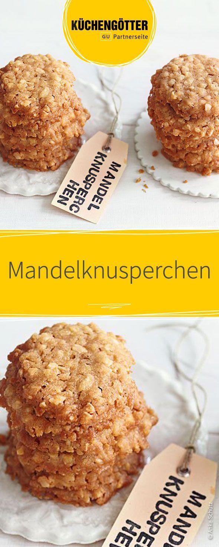 Mandelknusperchen Recipe Weihnachten Pinterest Cookies