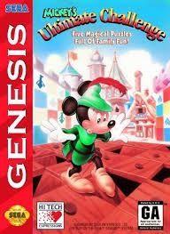 Complete MICKEYS ULTIMATE Challenge - Genesis