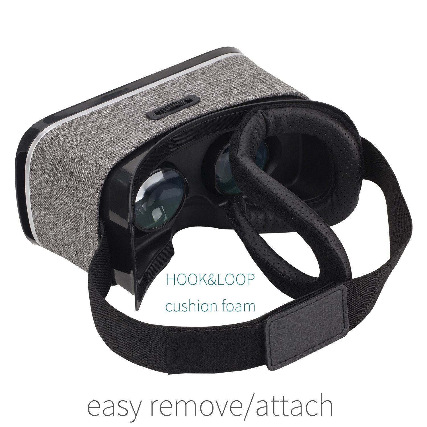 Neutab Vr 2nd Gen Virtual Reality Vr Headset 3d Glasses With Remote Controller 360 Degree Immersive Movies And Games For Ios A Vr Headset Headset Android Phone