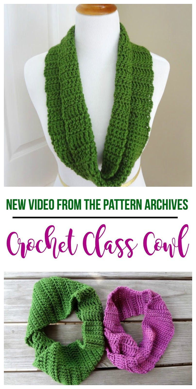 The crochet class cowl has been around for a while but there is new video tutorial from the fiber flux pattern archives crochet class cowl bankloansurffo Images