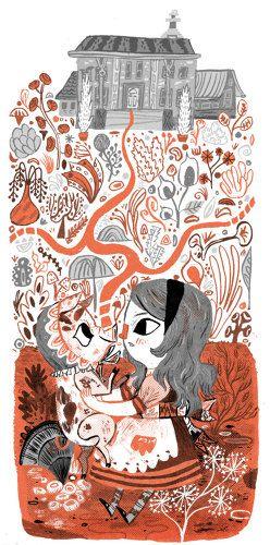 Alice in Wonderland - Meg Hunt Illustration