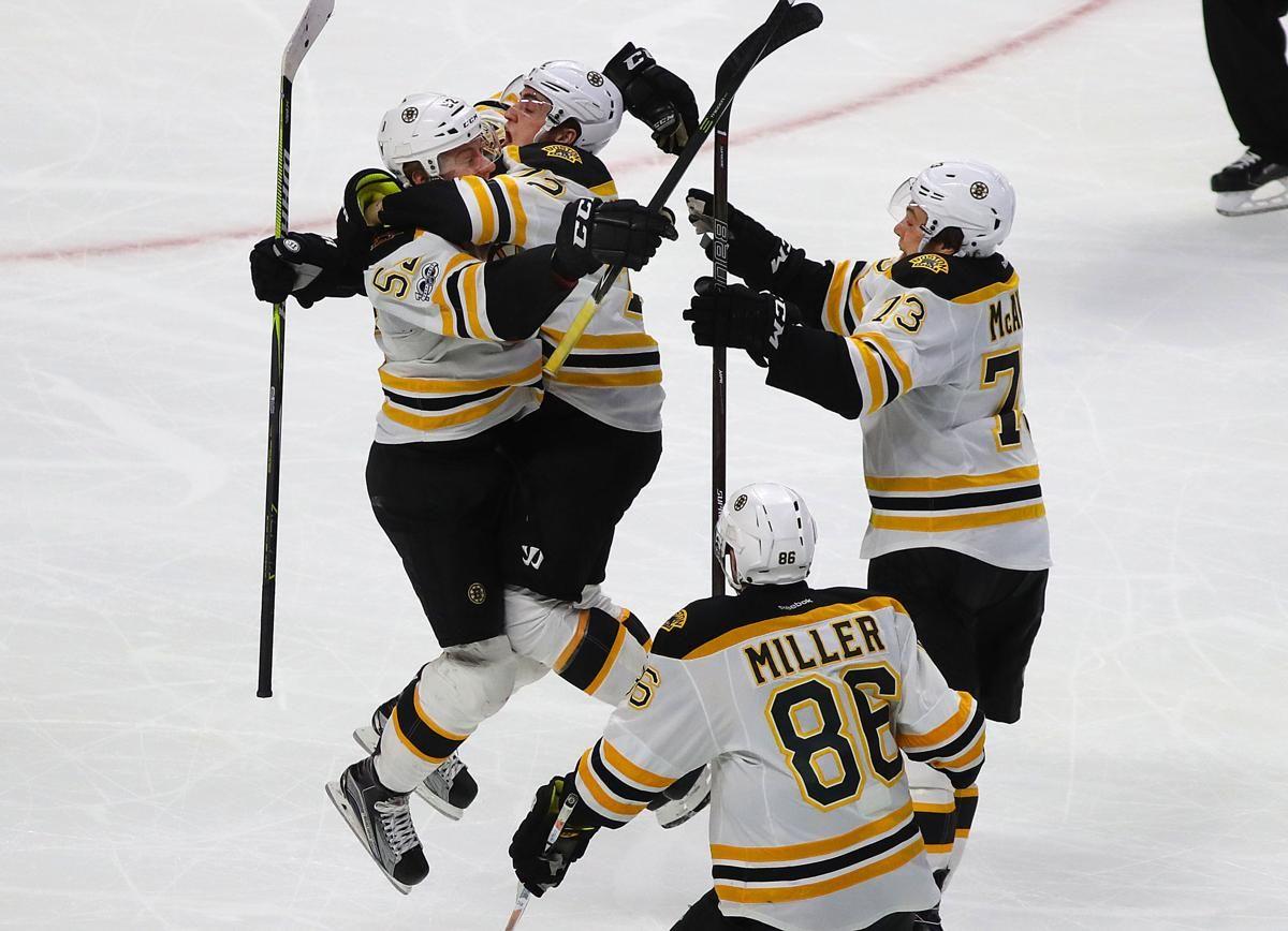 Sean Kuraly S Goal In Double Overtime Sends Bruins Past Senators The Boston Globe Boston Bruins Hockey Bruins Boston Sports