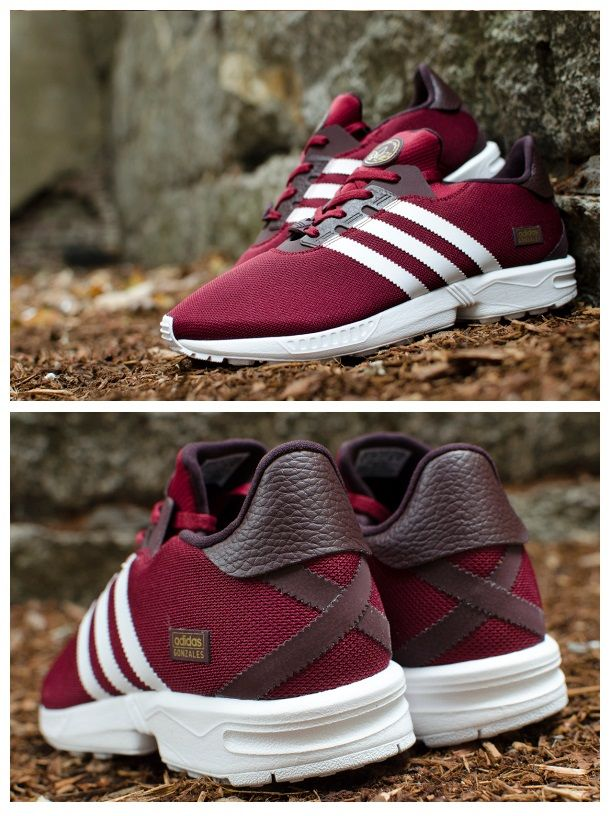outlet store 56113 d4ad1 adidas Skateboarding ZX Gonz Burgundy