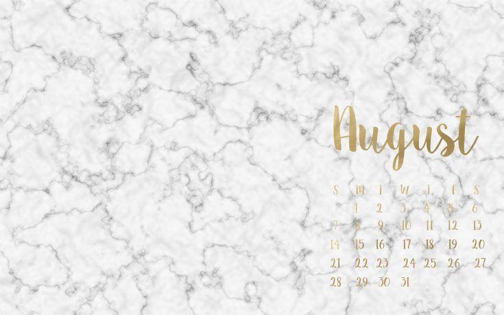 FREE August Desktop IPhone Wallpapers