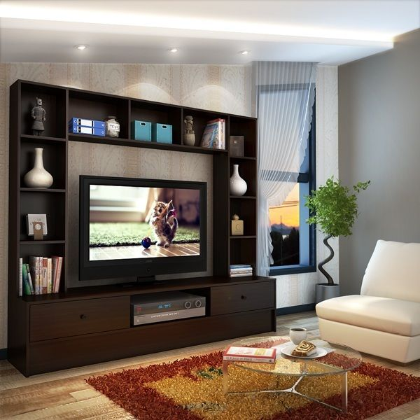Buy Mars Wall Unit Wenge Online At Lowest Prices In India
