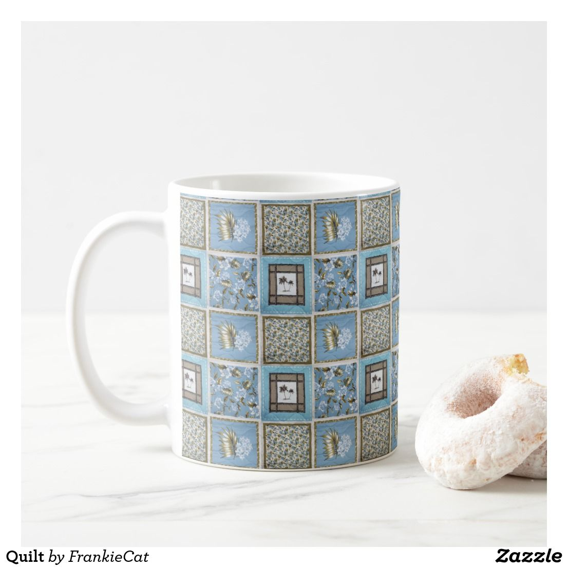 Quilt Coffee Mug Created By Frankiecat Personalize It With Photos Text Or Purchase As Is