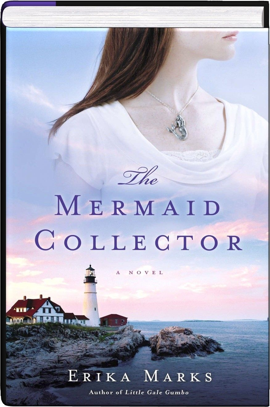 The Mermaid Collector - Cradle Harbor, Maine, is a seaside town moored in a tragic legend: the 1880's tale of a lighthouse keeper swept up by the sea into the arms of his mermaid lover, and whose wife paid a terrible price for his wandering heart. Erika Marks' wondrous The Mermaid Collector returns to the present day where Tess Patterson nurses her own heartache after the town's golden boy ends their affair. Asculptor, Tess pours herself into creating a carving for the upcoming Mermaid…