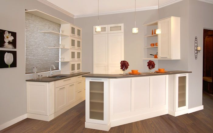 Fabuwood Shaker Linen In Stock Kitchen Cabinets