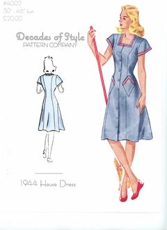 Decades of Style 1944 Housedress