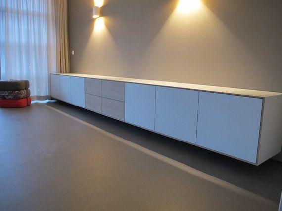 Dressoirs Ikea : Meer dan 1000 ideeën over Zwevend Bureau op Pinterest - Bureau's ...  TV ...