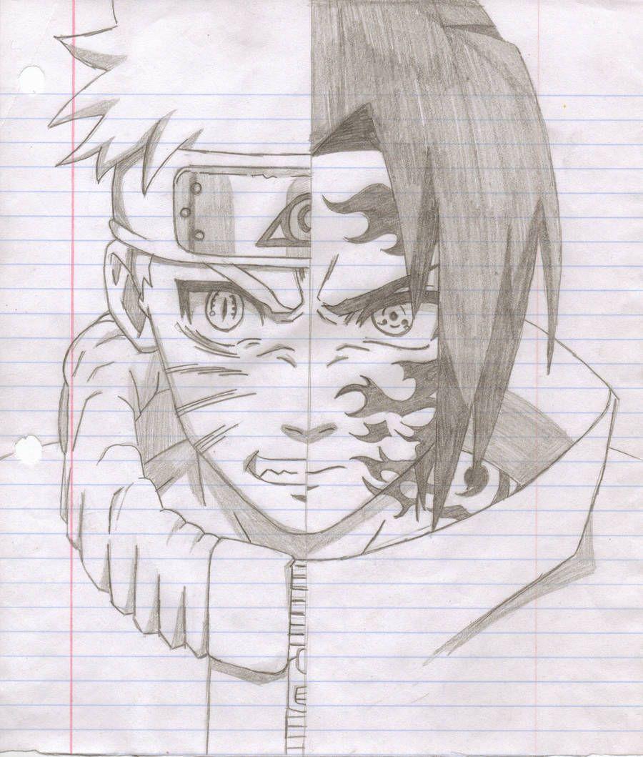 Naruto Vs Sasuke By Madara 13 En 2019 Dessin Naruto