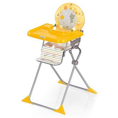 Brevi Chaise Haute Bebe Extra Pliante Junior Voyage Jaune Chaise Haute Chaise Haute Bebe Chaise Haute Evolutive