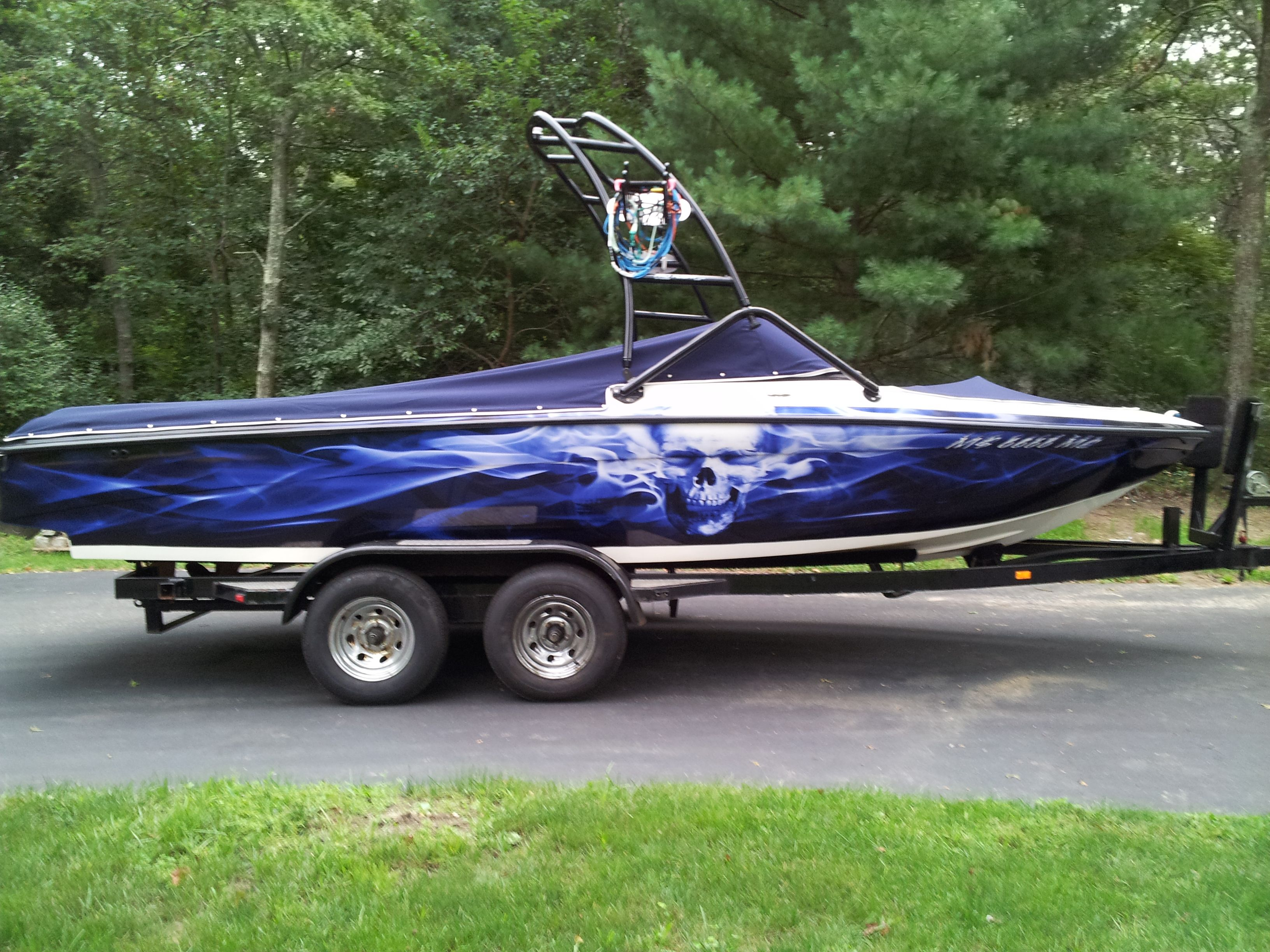 wakeboard boat wrap in florida