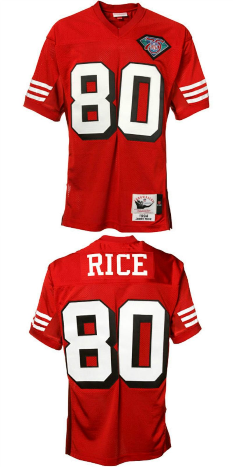 official photos 9d96d a724e UP TO 70% OFF. Jerry Rice San Francisco 49ers Mitchell ...