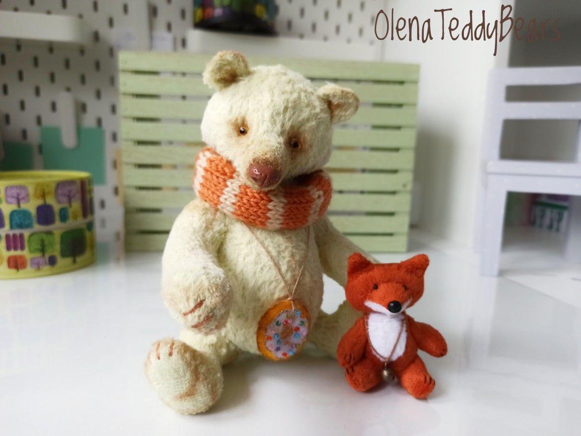 Handmade Teddy Bear Bear And Friend Ooak Teddy Stuffed Etsy Handmade Teddy Bears Handmade Teddy Bear Stuffed Animal [ 868 x 1156 Pixel ]