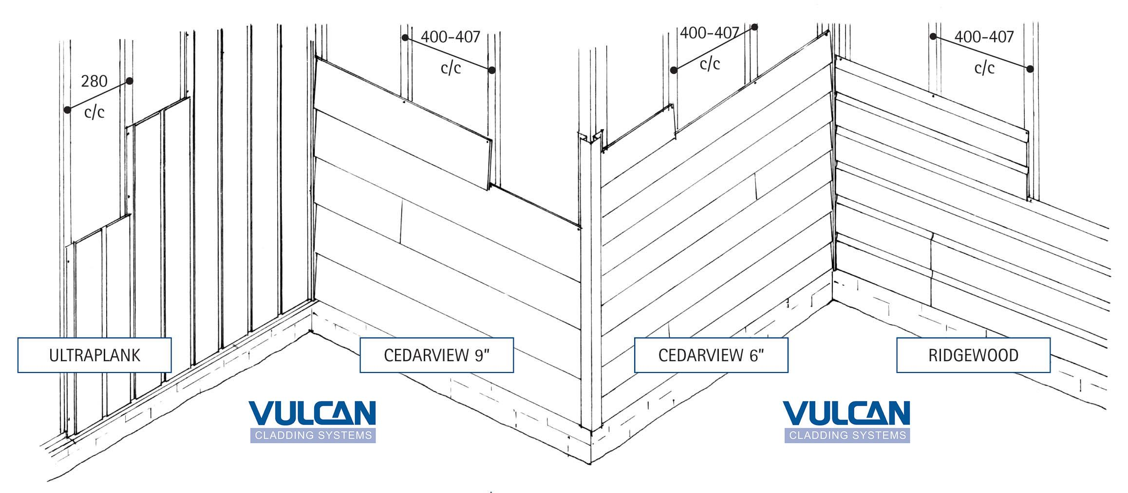 Canexel Batten Layout And Installation Details