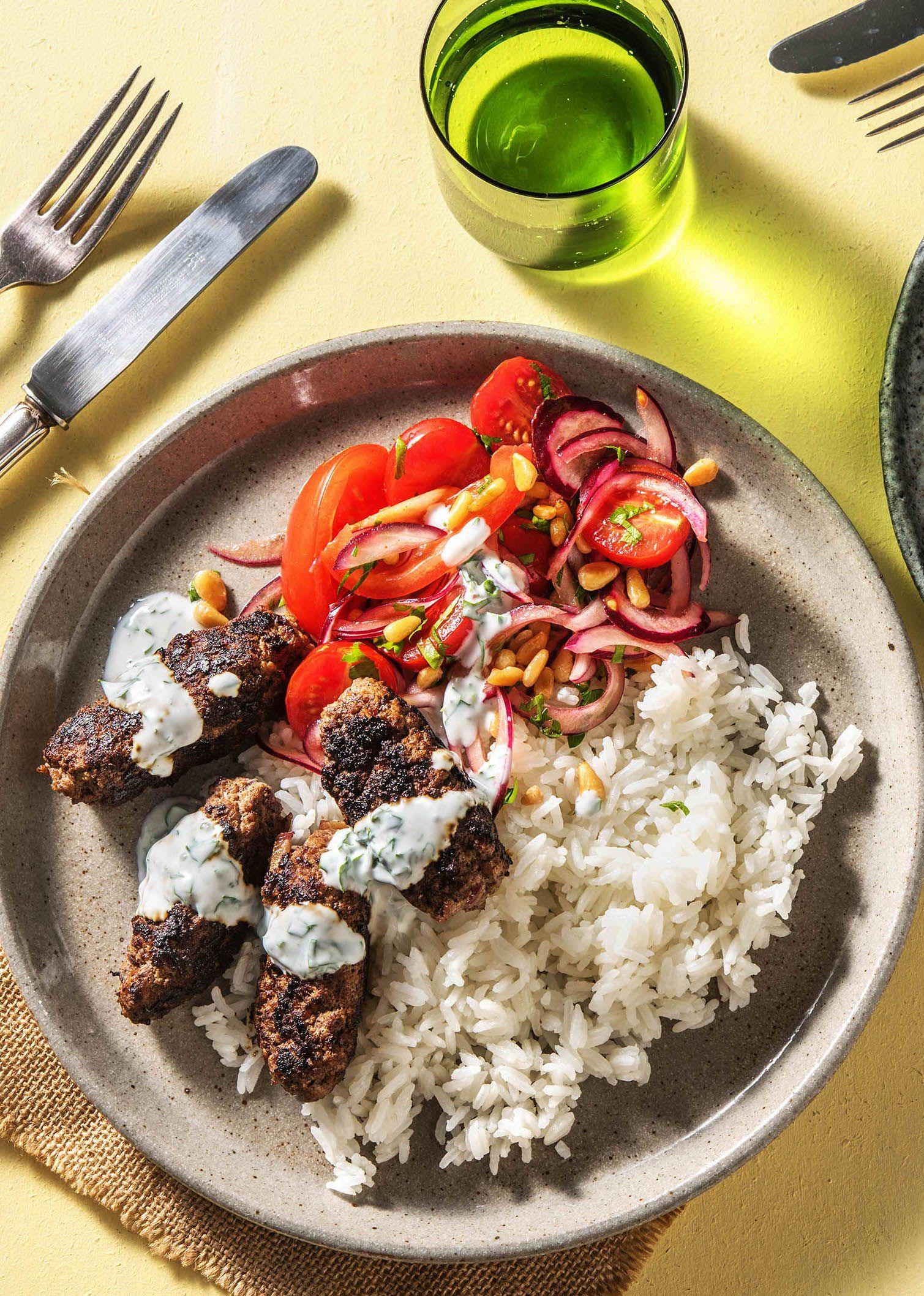 Hello Kofte Turkische Frikadellen Rezept Hellofresh Rezept Rezepte Mit Frikadellen Rezepte Einfache Gerichte