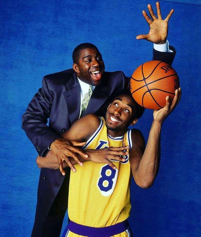 34a956abf009 Magic Johnson and Kobe Bryant - Los Angeles Lakers