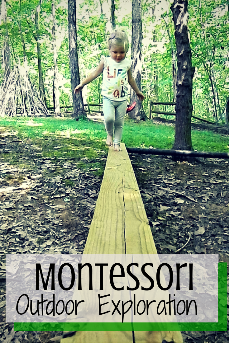 Montessori Setup: Montessori Outdoor Exploration