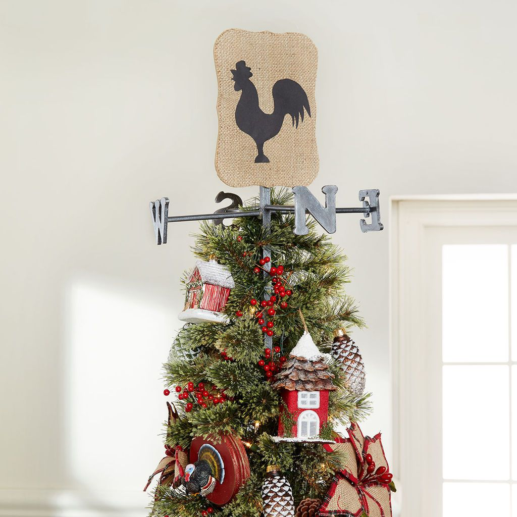DIY Farm Themed Weather Vane Christmas Tree Topper | Holiday Décor ...