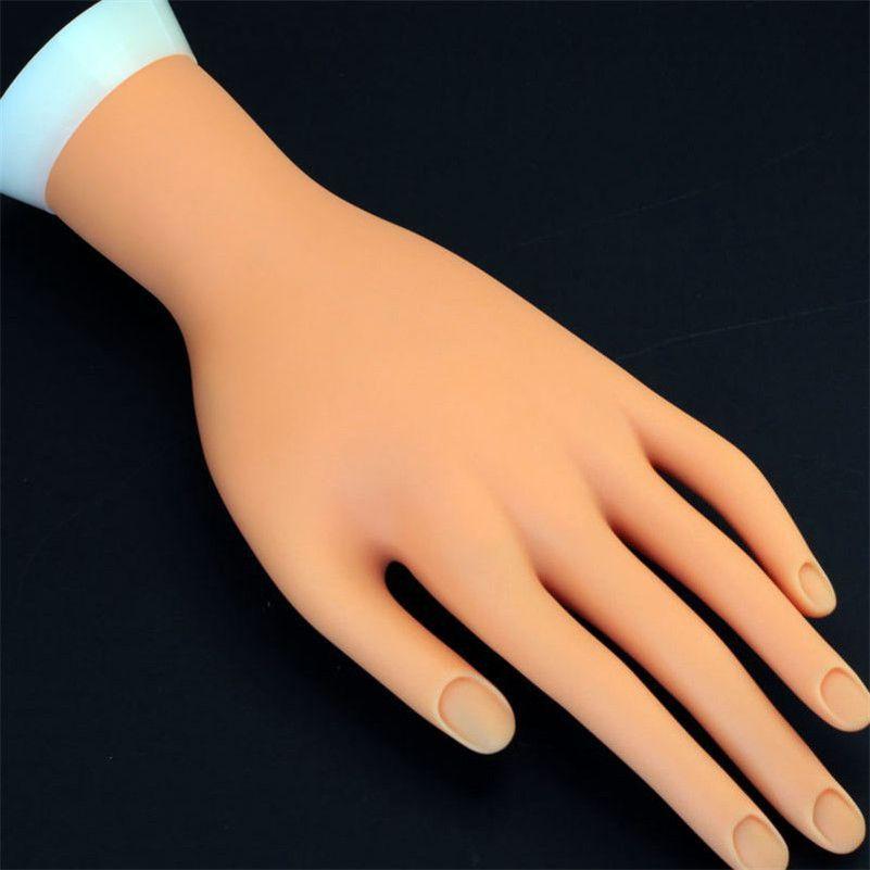 Permanent Makeup 1Pcs Flexible Soft Plastic Flectional Mannequin ...