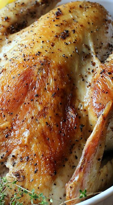 Instant Pot Pressure Cooker Whole Roast Chicken Recipe Food