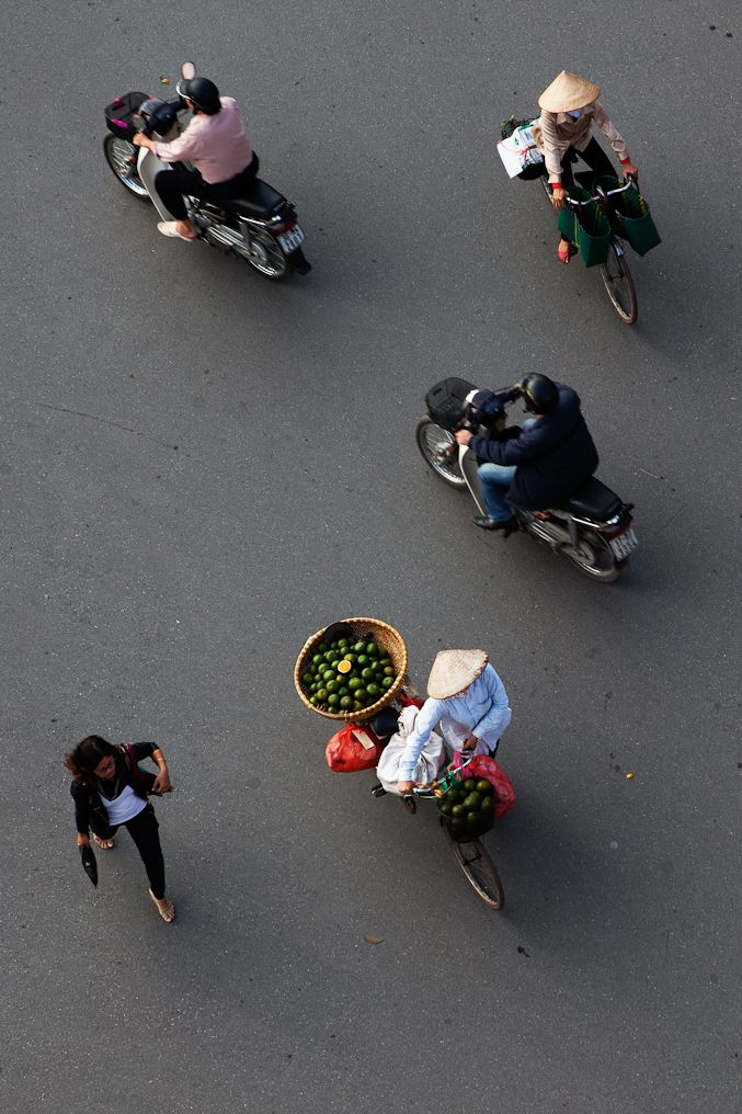 simple shot of Hanoi by Cedric Arnold