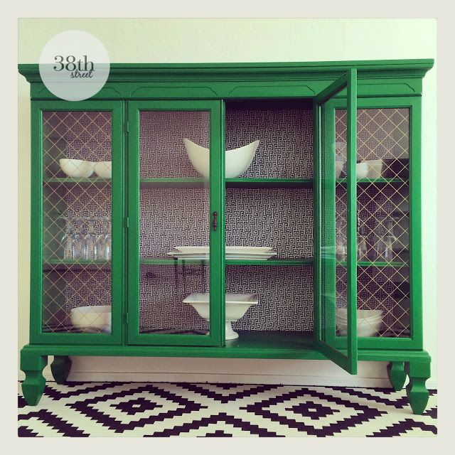 The Fab Furniture Flippin' Contest: Upcycled Hutch