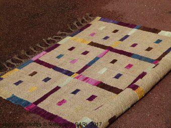 tapis jute multicolore madam stoltz d co ethnique chic madame stoltz pinterest father. Black Bedroom Furniture Sets. Home Design Ideas