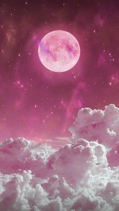 Pink moon wallpaper by arsi26 - b1 - Free on ZEDGE™