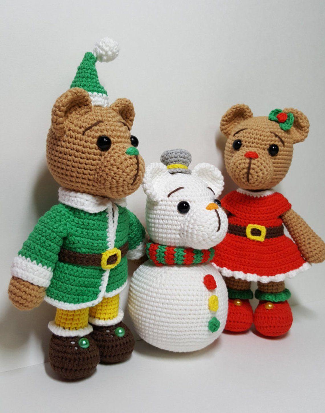 Decora la Navidad con amigurumis | Mil ovillos | Amigurumis ... | 1447x1140