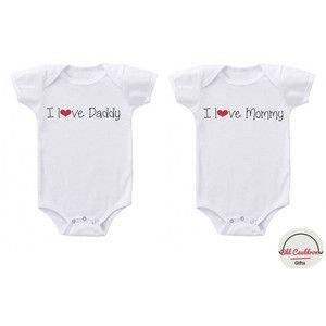 Twin onesies, matching twin onesies, twin bodysuits, baby boy twin onesies, baby girl twin onesies, baby shower twin gift, twin cute onesies