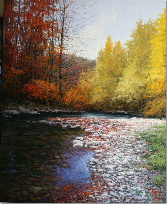 Galeria De Pintura Al Oleo: Paisajes Pinturas Al óleo De Miguel Peidro 7
