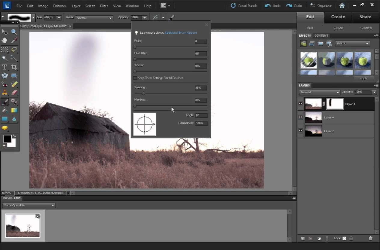 How to use layer masks in Elements and